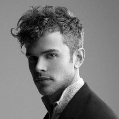 how to style wavy hair men thick peinados para hombres con cabello rizado talkin heads 4830 | sleek curly hair undercut men